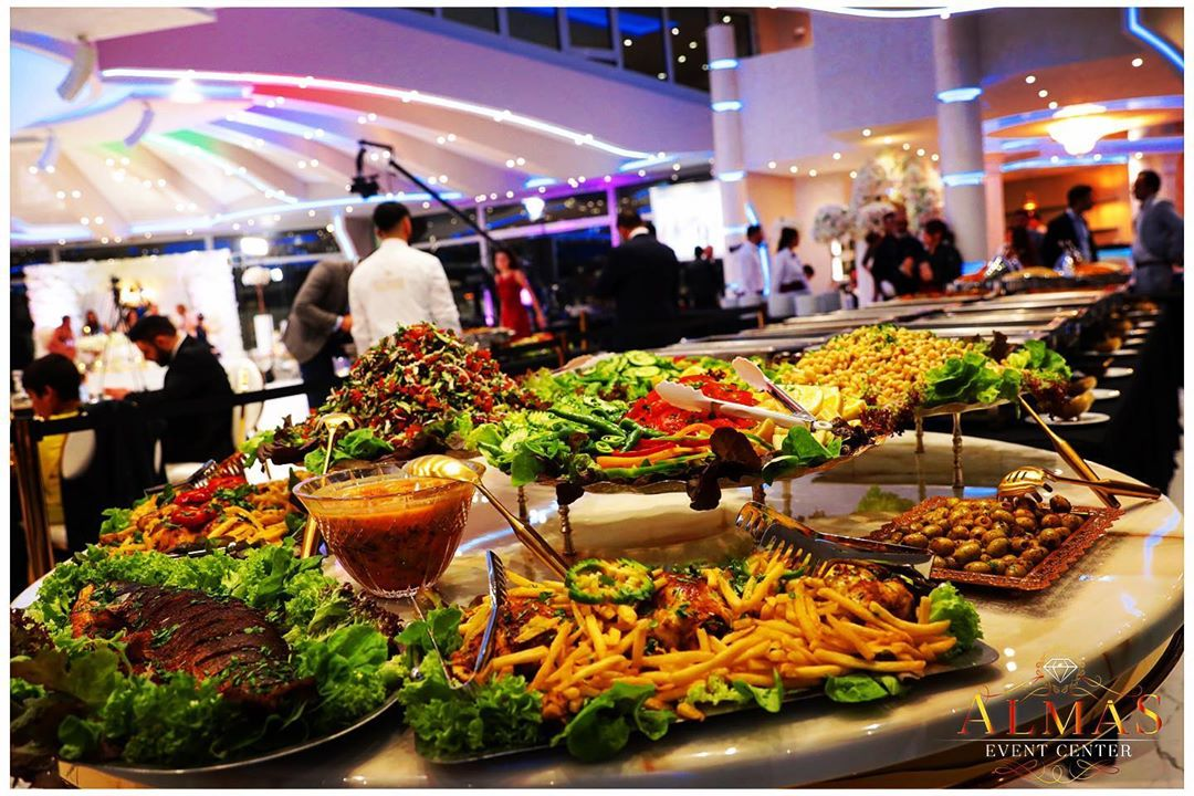 ALMAS Event Center - Buffet